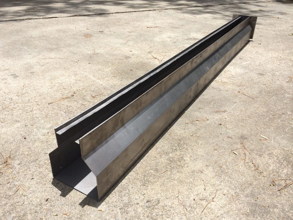 Slot Drains 10ft X 8 Wide Channel With Steel Grates
