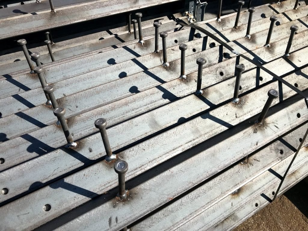 1 3 4 X 1 3 4 X 1 4 X 120 Angle Iron Embeds Galvanized